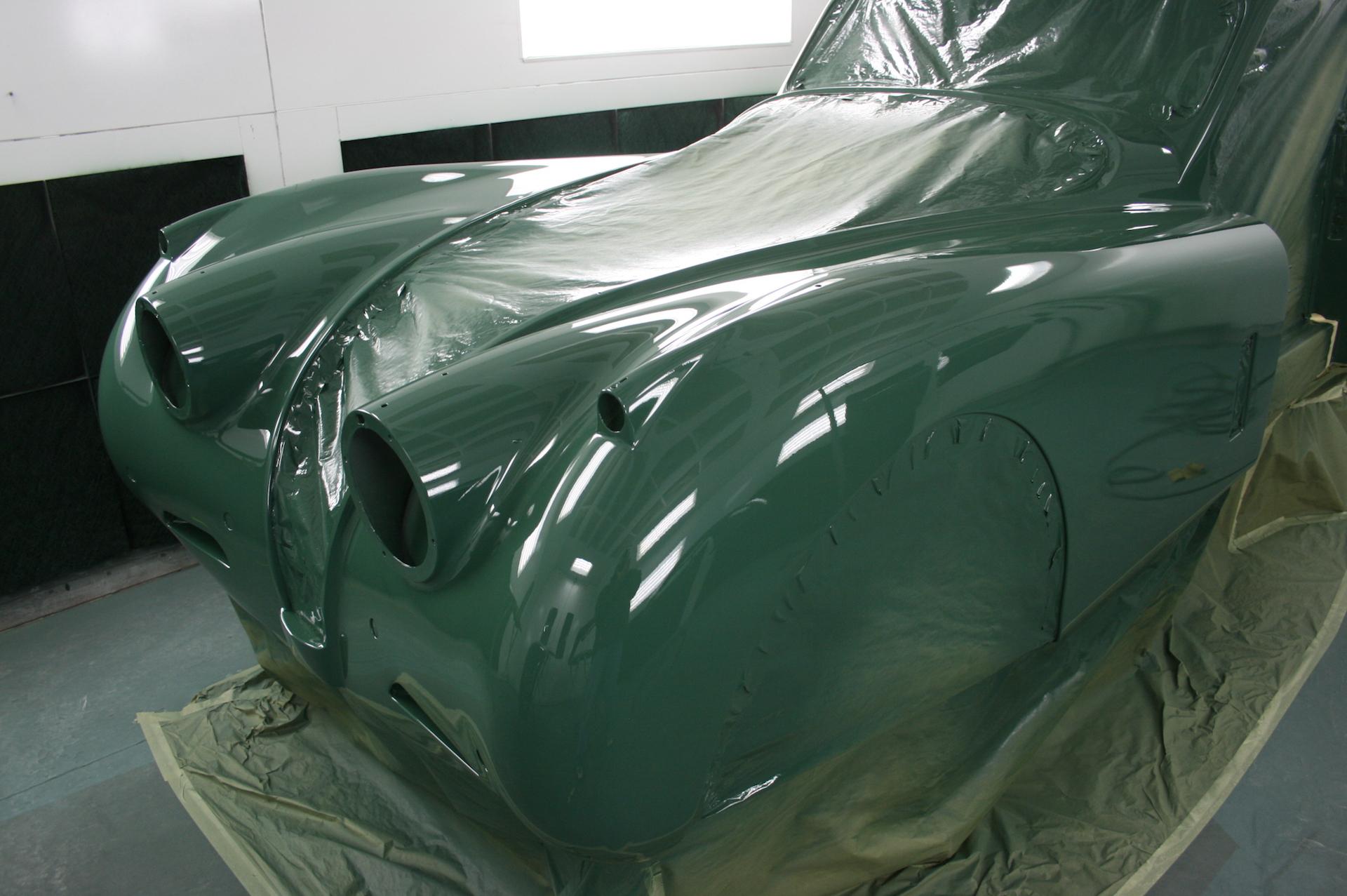 1953 Jaguar Xk Metalworks Classics Auto Restoration