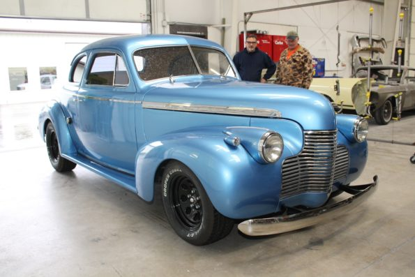 1940 Chevy coupe - MetalWorks Classics Auto Restoration & Speed Shop