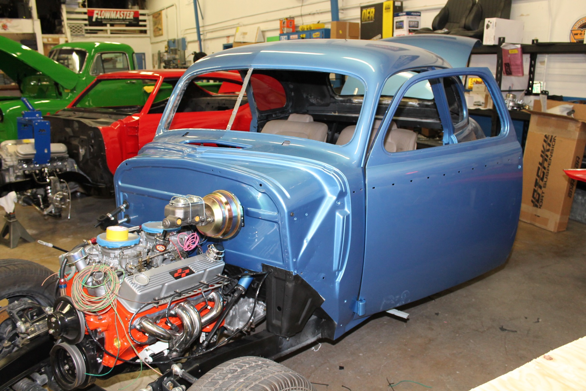 1940 Chevy Coupe Metalworks Classics Auto Restoration Speed Shop Classic Wiring Assembly