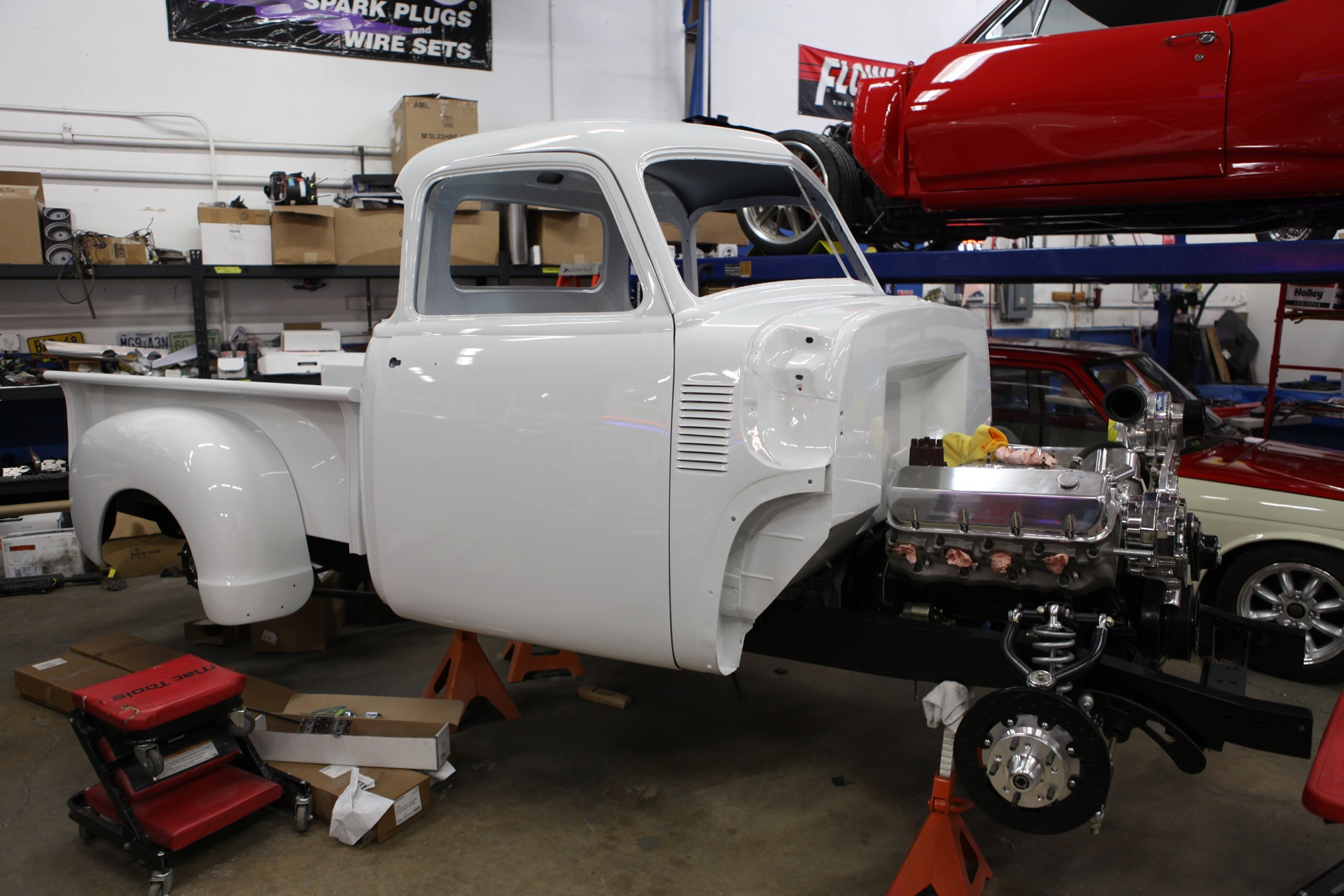 1951 Chevy Truck Metalworks Classics Auto Restoration Speed Shop Wiring Cab On Chassis