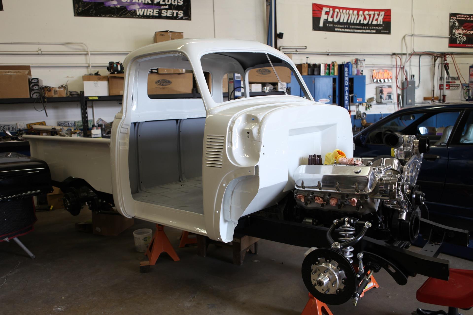 1951 Chevy Truck Metalworks Classics Auto Restoration Speed Shop Chevrolet Wiring Box Install
