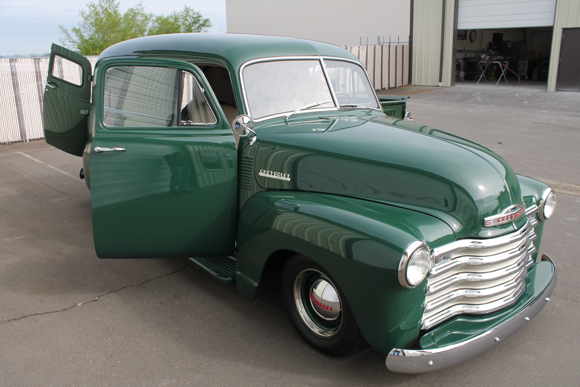 1952 Chevy panel - MetalWorks Classics Auto Restoration & Speed Shop