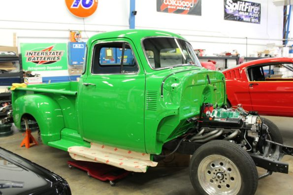 Awesome 1955 Chevy Truck Metalworks Classics Auto Restoration Speed Shop Wiring 101 Orsalhahutechinfo