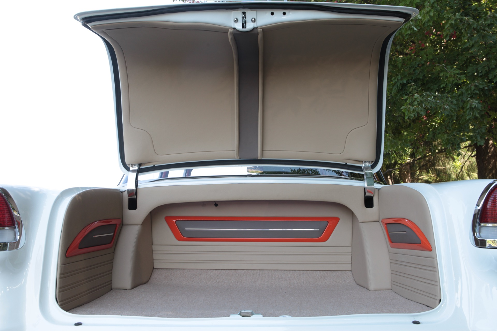 1957 Chevy Metalworks Classics Auto Restoration Speed Shop 1955 Chevrolet Fuel Tank Interior Nearing Completion