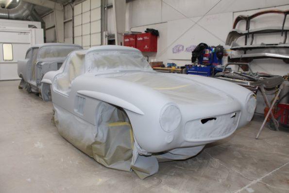 1956 Mercedes - MetalWorks Classics Auto Restoration & Speed