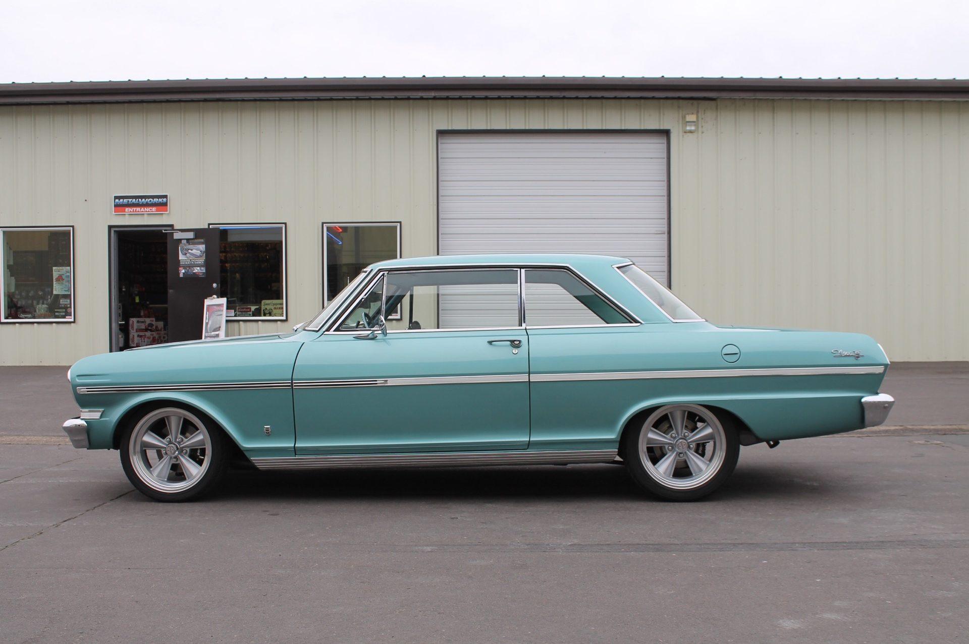 1963 Chevy Nova - MetalWorks Classics Auto Restoration