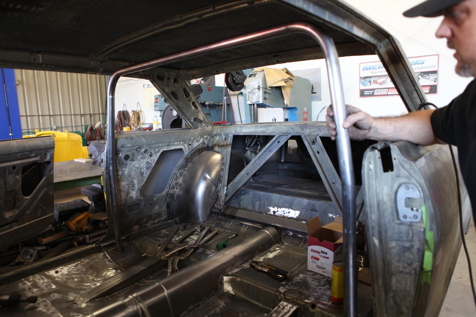 Detroit Roof Repair 1963 Pro Touring Chevy Nova – MetalWorks Classic Auto ...