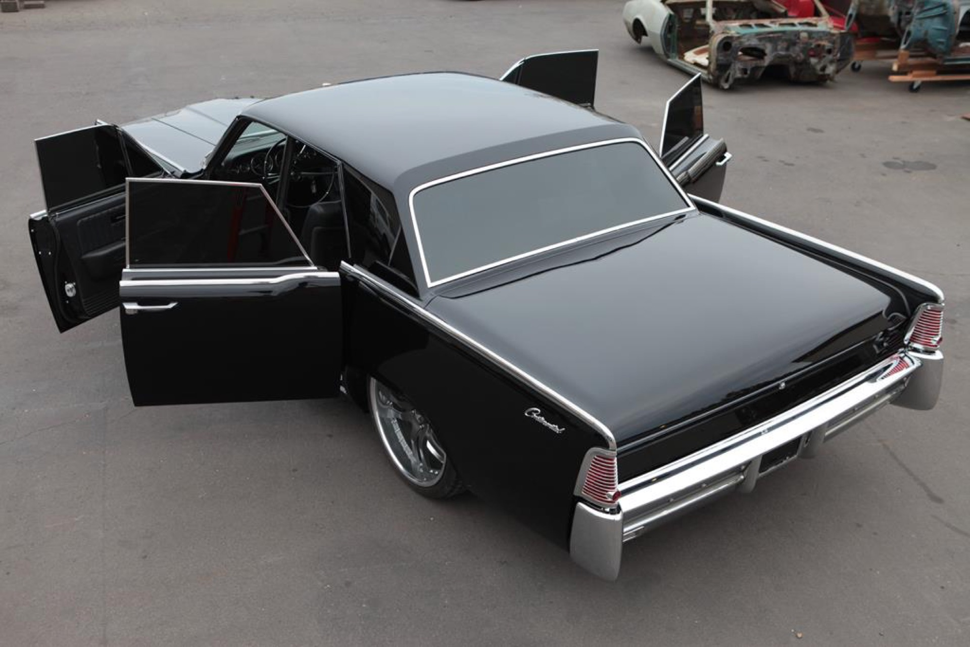 1965 lincoln continental metalworks classic auto restoration. Black Bedroom Furniture Sets. Home Design Ideas