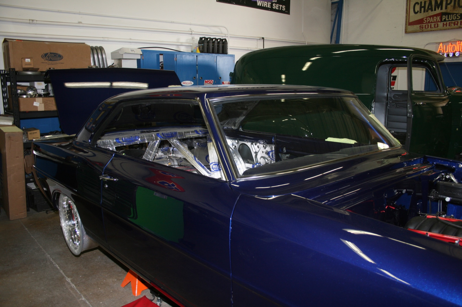 1966 Chevy Nova Metalworks Classics Auto Restoration Speed Shop Dome Light Wire Rear