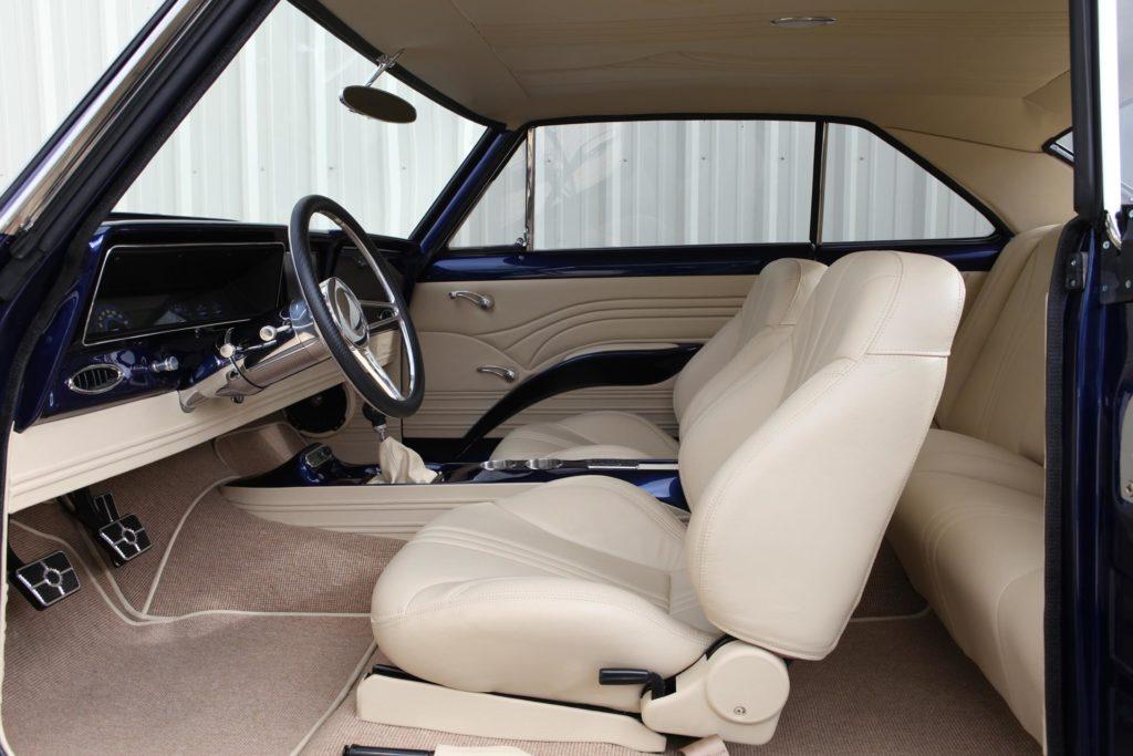 1966 chevy nova II interior protouring metalworks