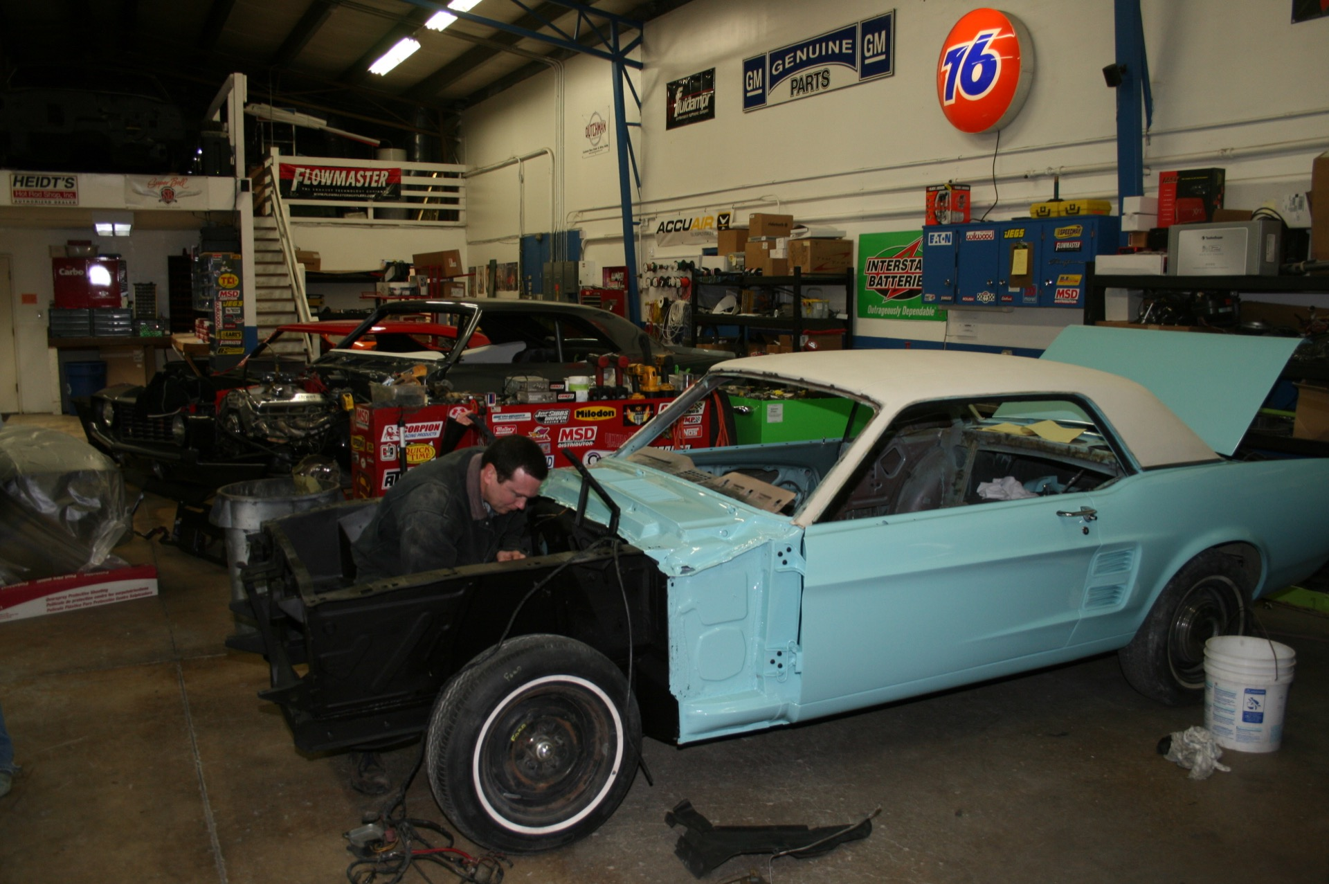 1967 Mustang MetalWorks Classics Auto Restoration & Speed Shop