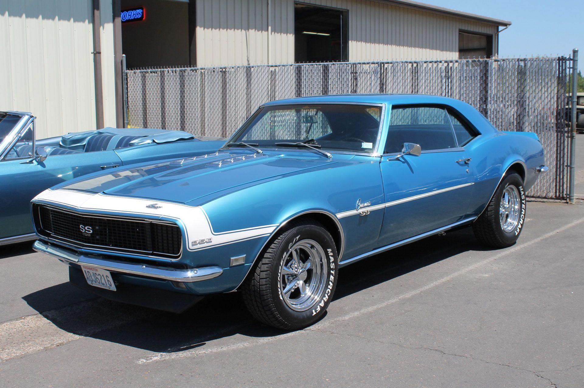 1968 Camaro - MetalWorks Classics Auto Restoration & Speed Shop
