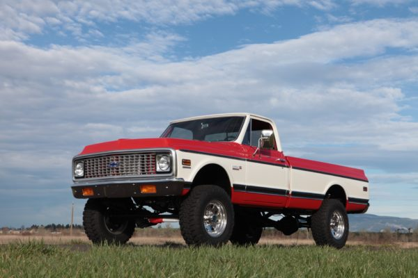 1972 Chevy 4×4 Truck