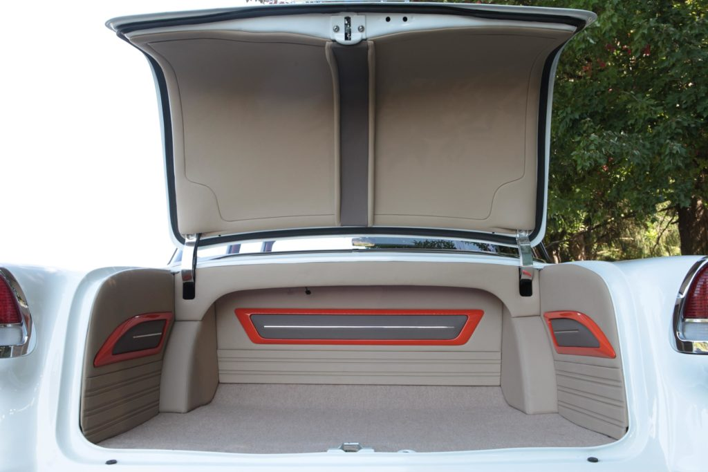 55 chevy trunk pro touring metalworks