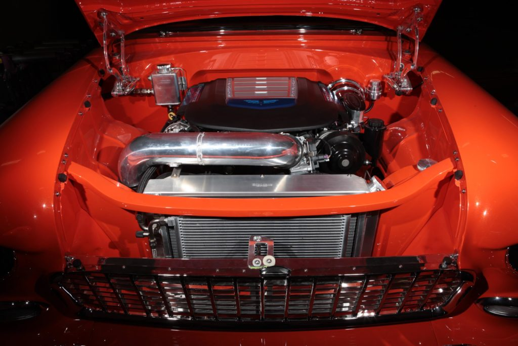 1955 chevy ls9 engine supercharged metalworks