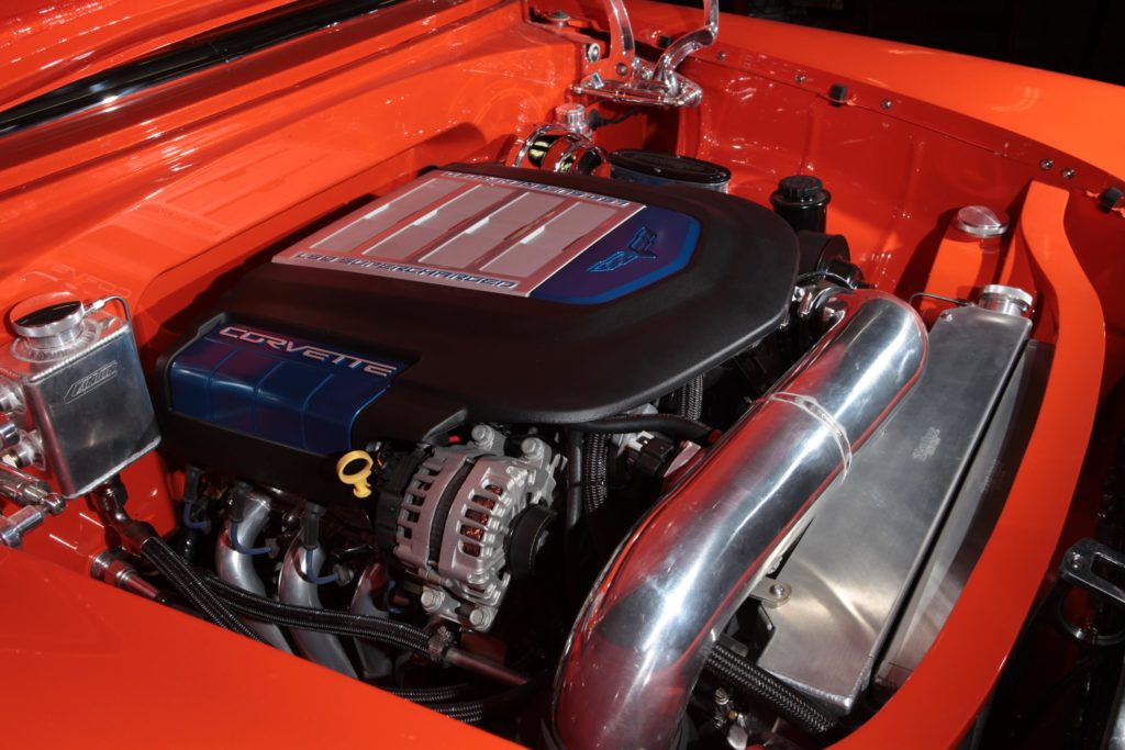 ls9 engine pro touring 55 chevrolet metalworks