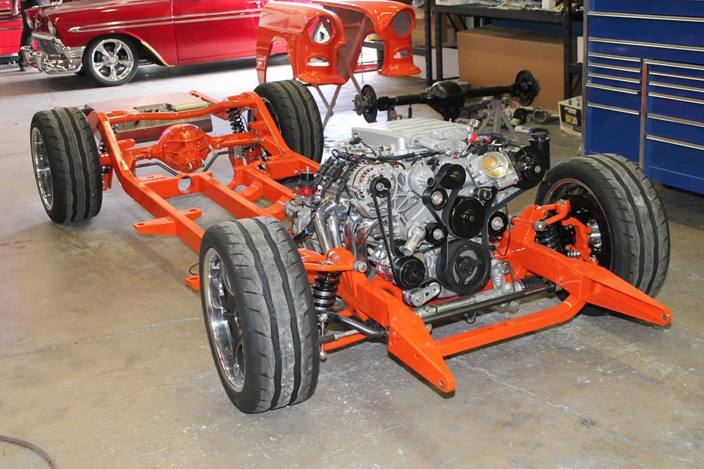 art morrison chassis ls9 engine 1955 chevy metalworks