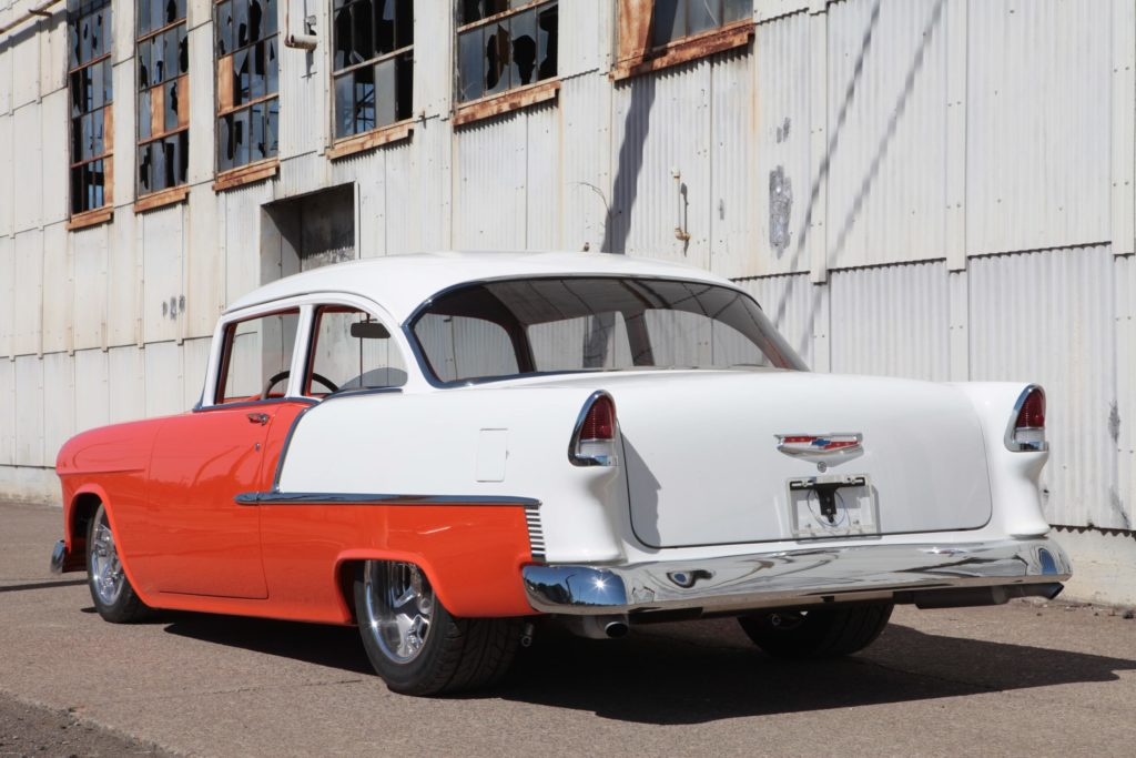 1955 chevy pro touring metalworks