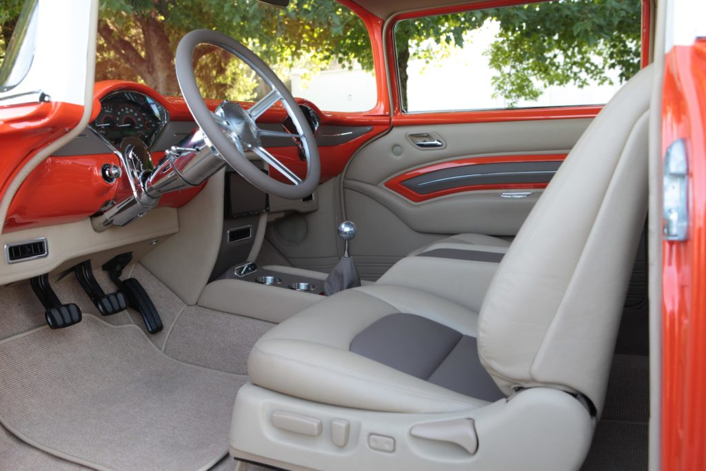 1955 chevy interior pro touring metalworks