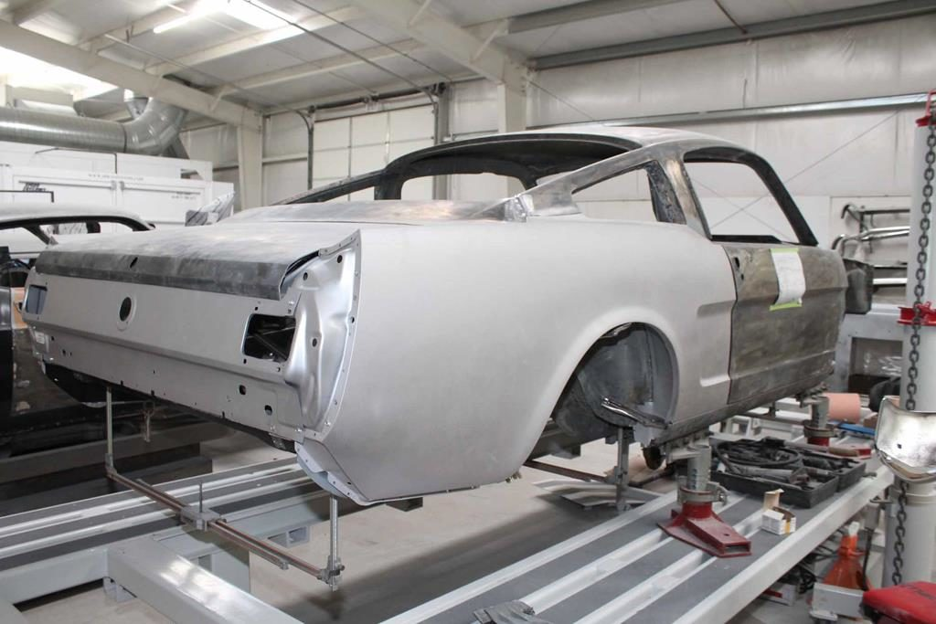 65 ford mustang quarter panel replacement metalworks