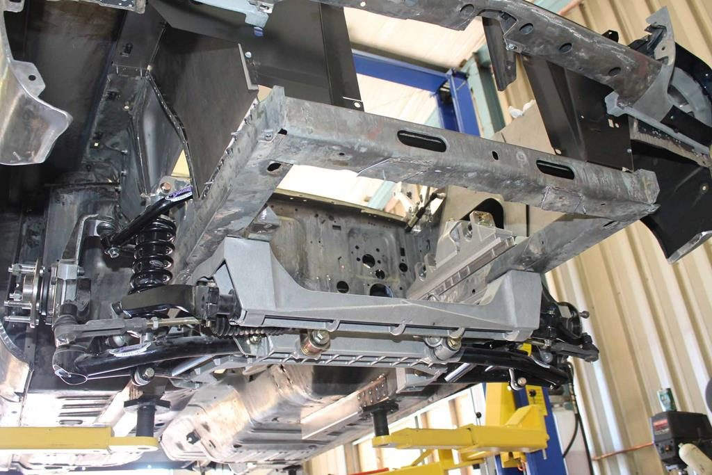 detroit speed alumaframe suspension 1965 mustang metalworks