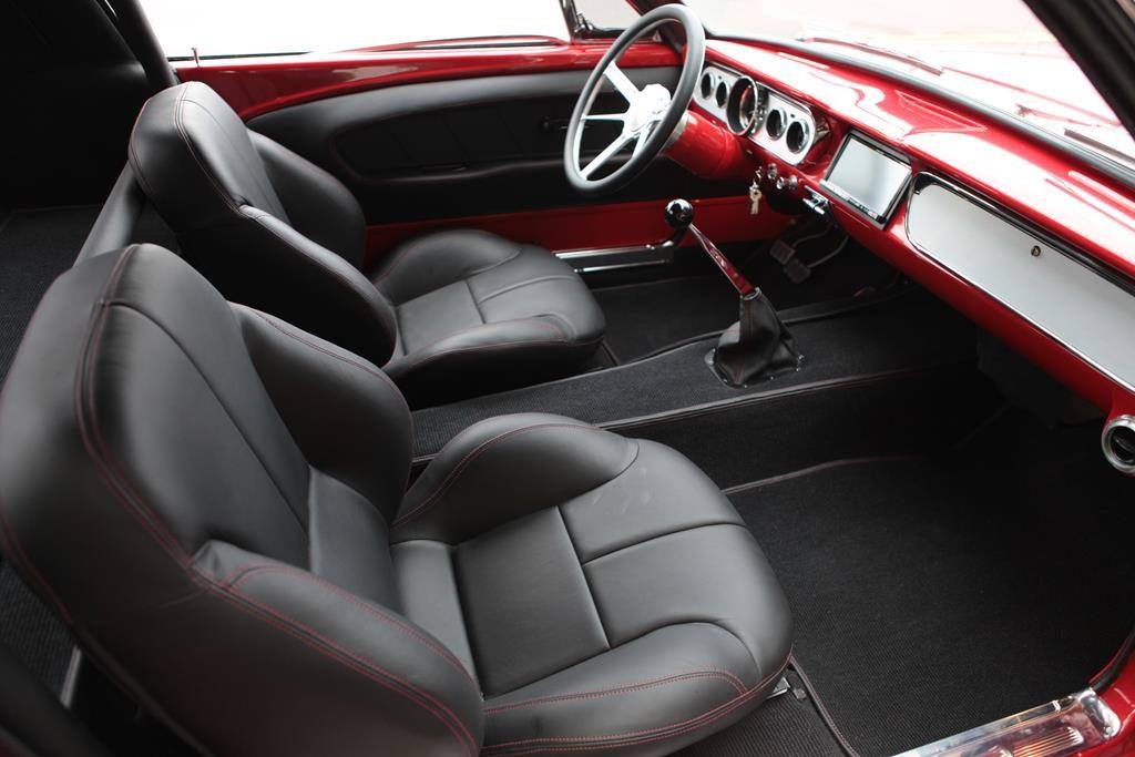 65 ford mustang interior hurst shifter metalworks