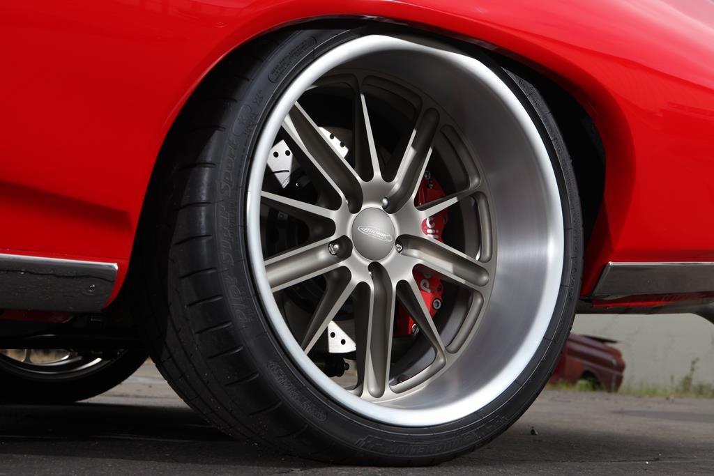 1968 pontiac gto budnik wheels wilwood disc brakes metalworks