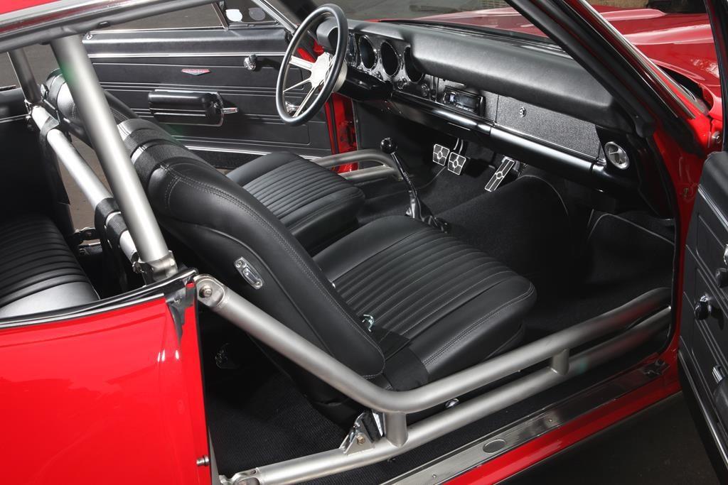 1968 pontiac gto interior ridetech tiger cage metalworks