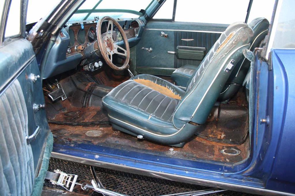 68 GTO interior pontiac metalworks eugene