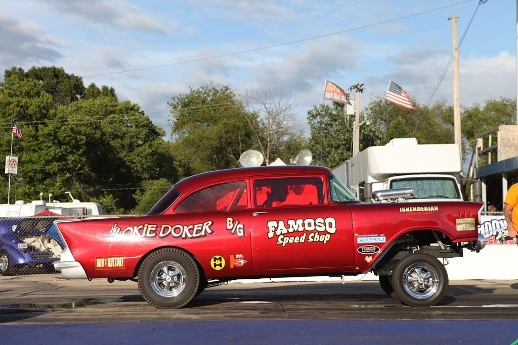 meltdown drags 2016 57 chevy fomoso metalworks