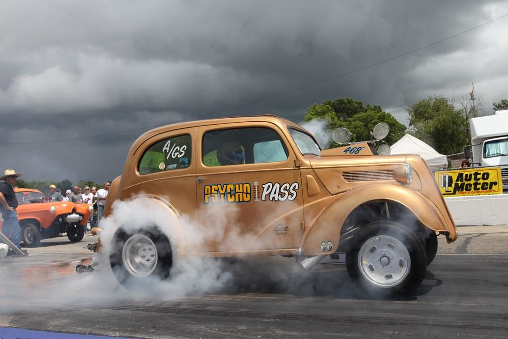 2016 meltdown drag races burnout metalworks