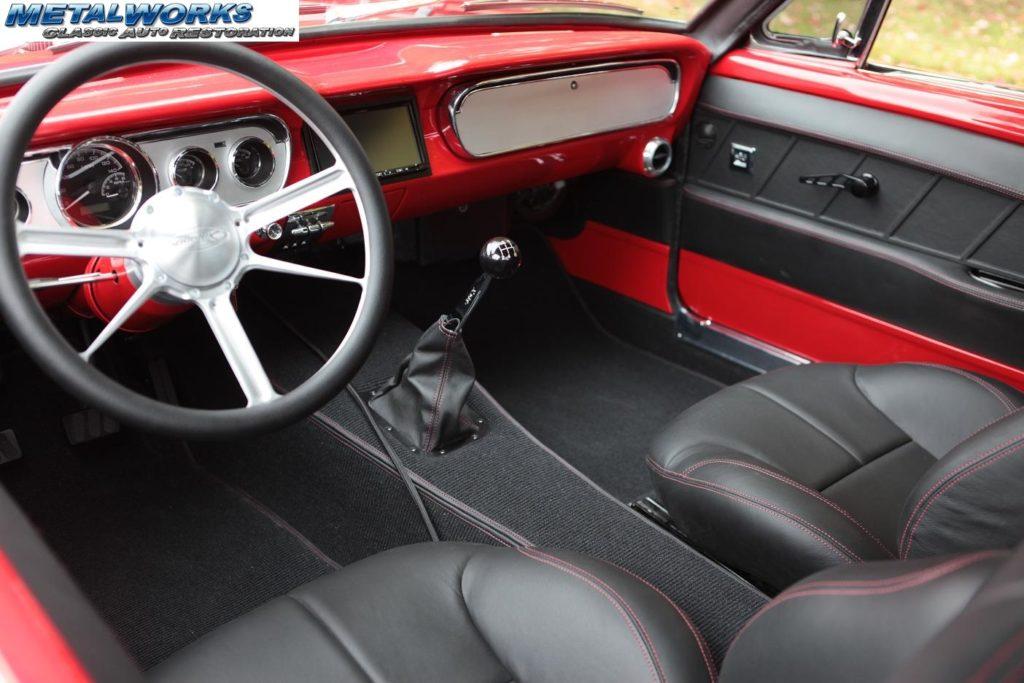 7 65 Mustang interior MetalWorks
