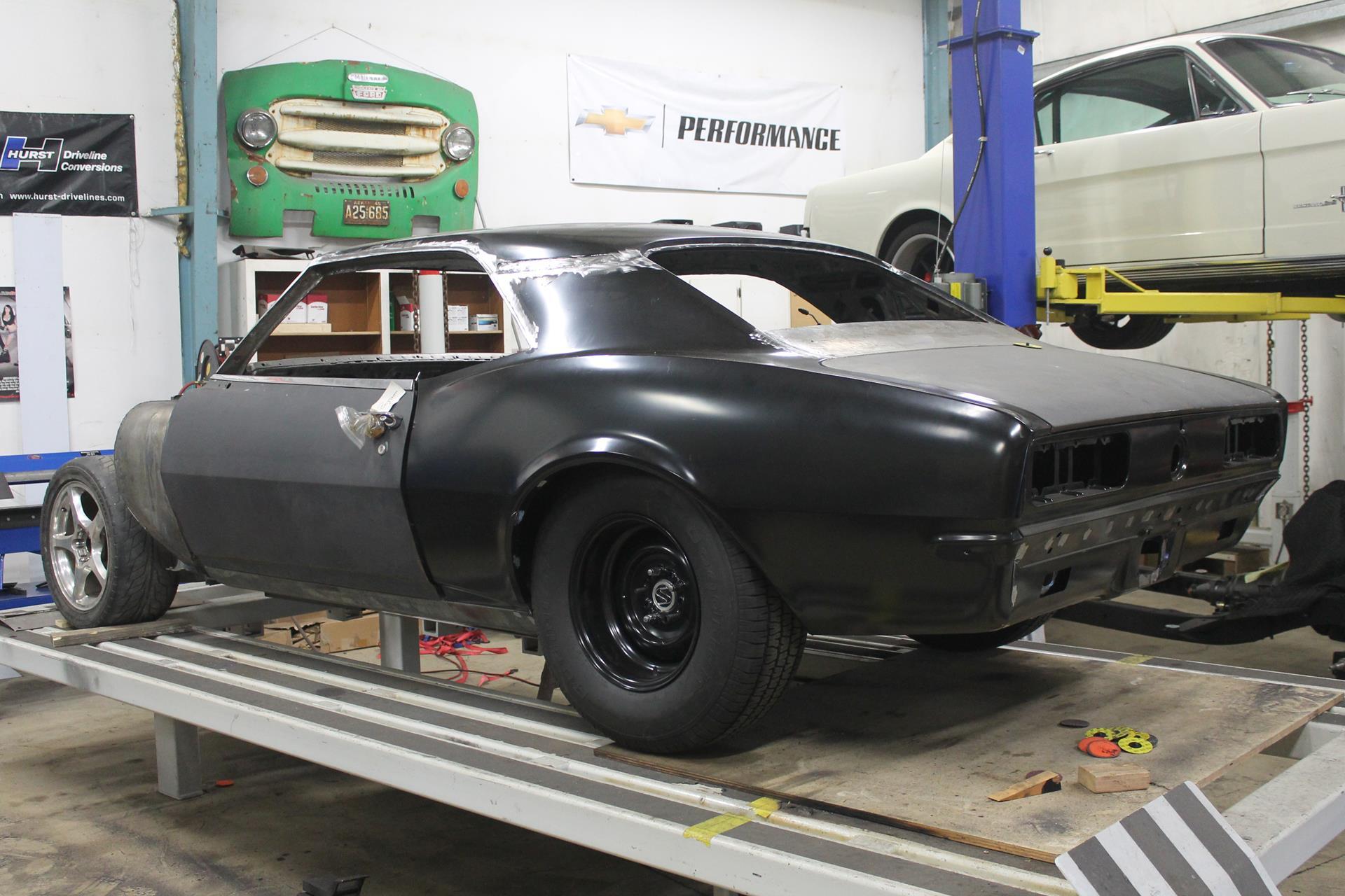 1968 pro touring camaro metalworks classic auto restoration. Black Bedroom Furniture Sets. Home Design Ideas