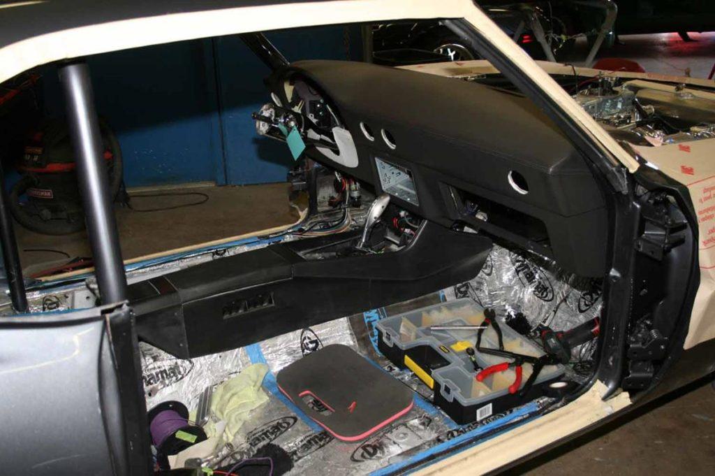 1969 chevy camaro protouring marquez designs interior metalworks