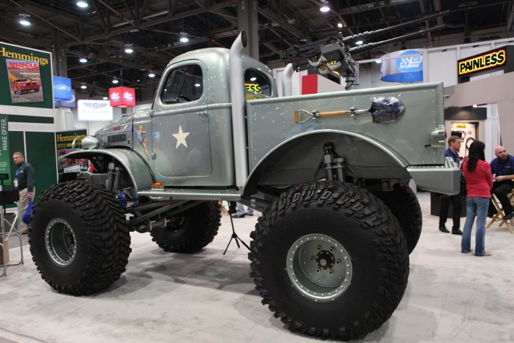 trucks of sema 2016 monster truck metalworks