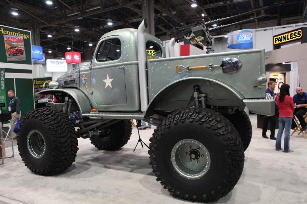 trucks of sema 2016 monster truck metalworks