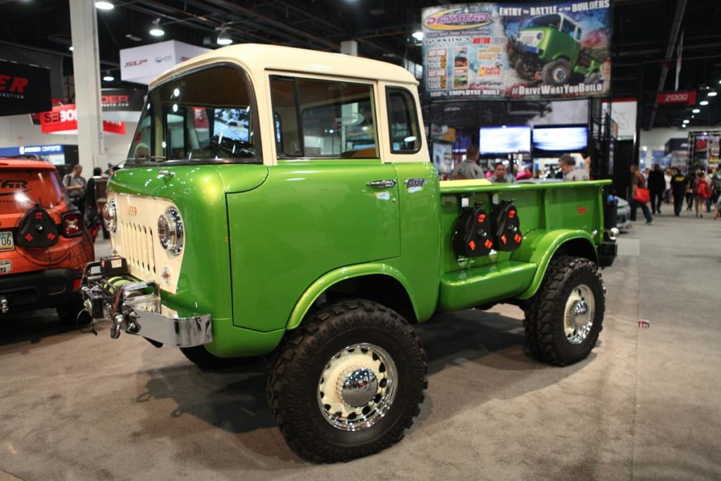 trucks of sema 2016 jeep forward control metalworks