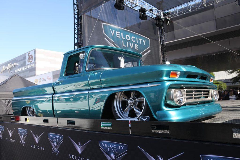 trucks of sema 2016 short wide truck metalworks