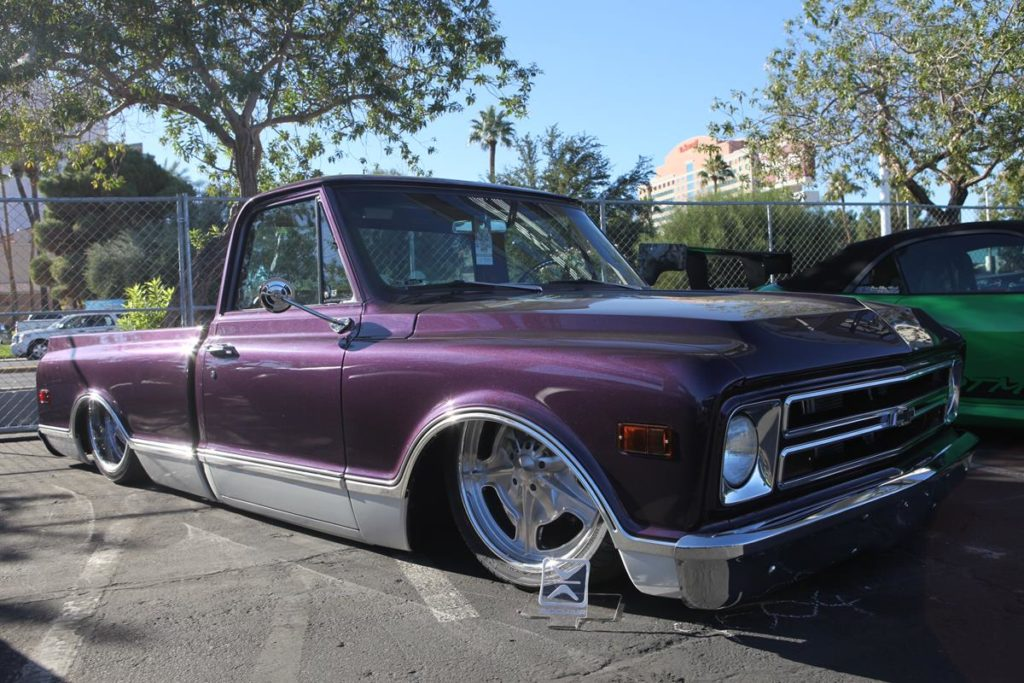 trucks of sema 2016 slammed c10 truck metalworks