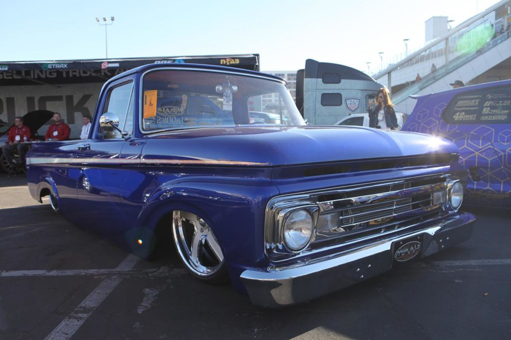 trucks of sema 2016 unibody ford truck metalworks