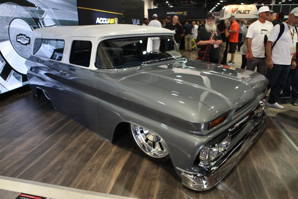 trucks of sema 2016 suburban metalworks