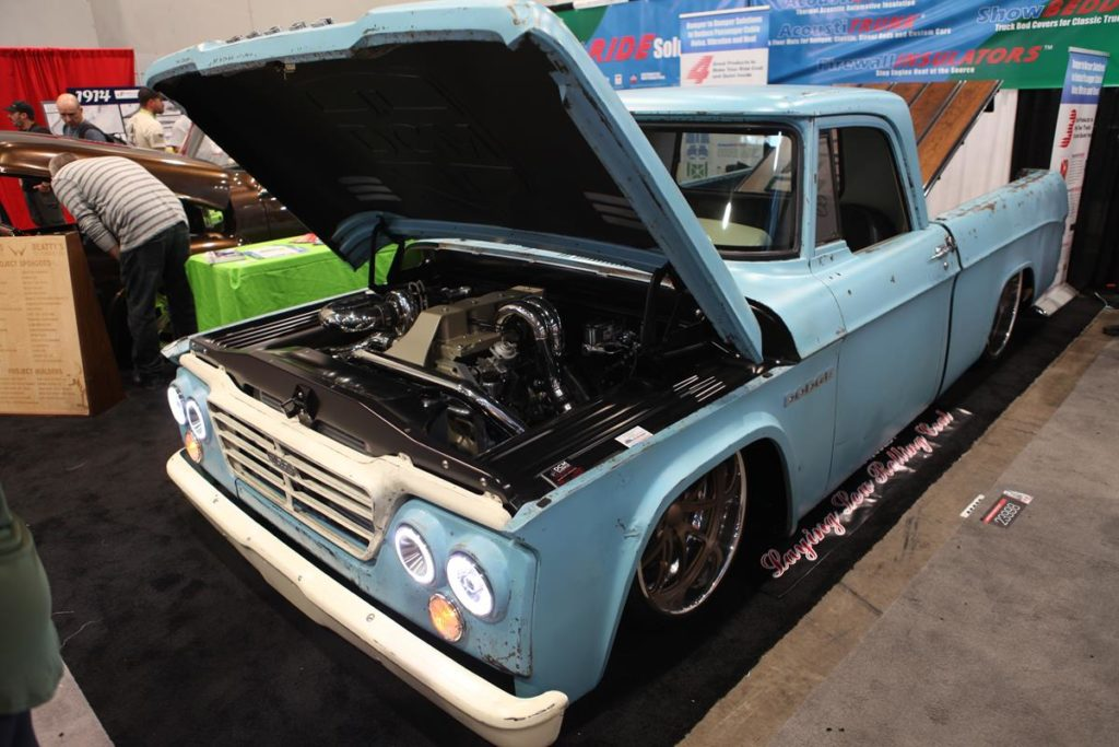 trucks of sema 2016 diesel dodge truck metalworks