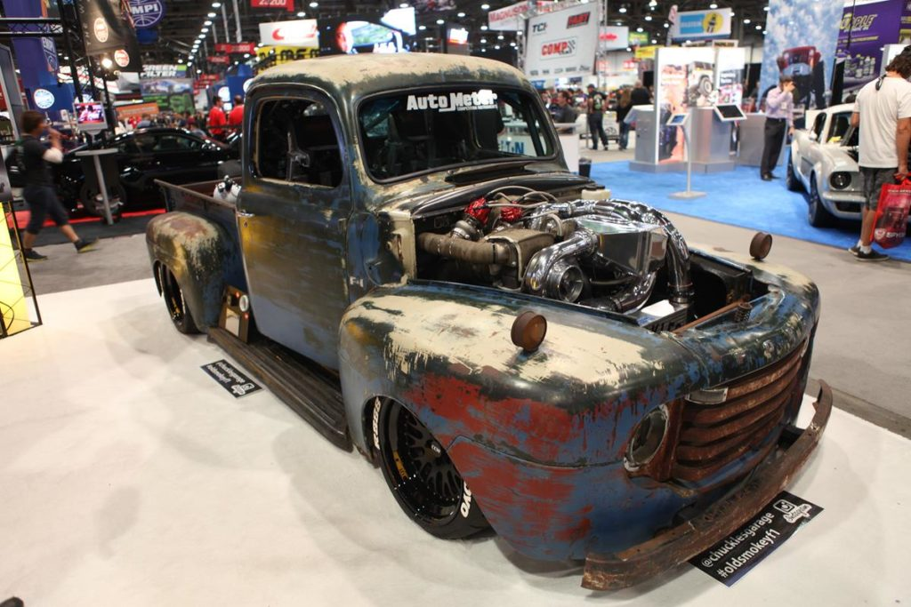 trucks of sema 2016 diesel ford truck metalworks