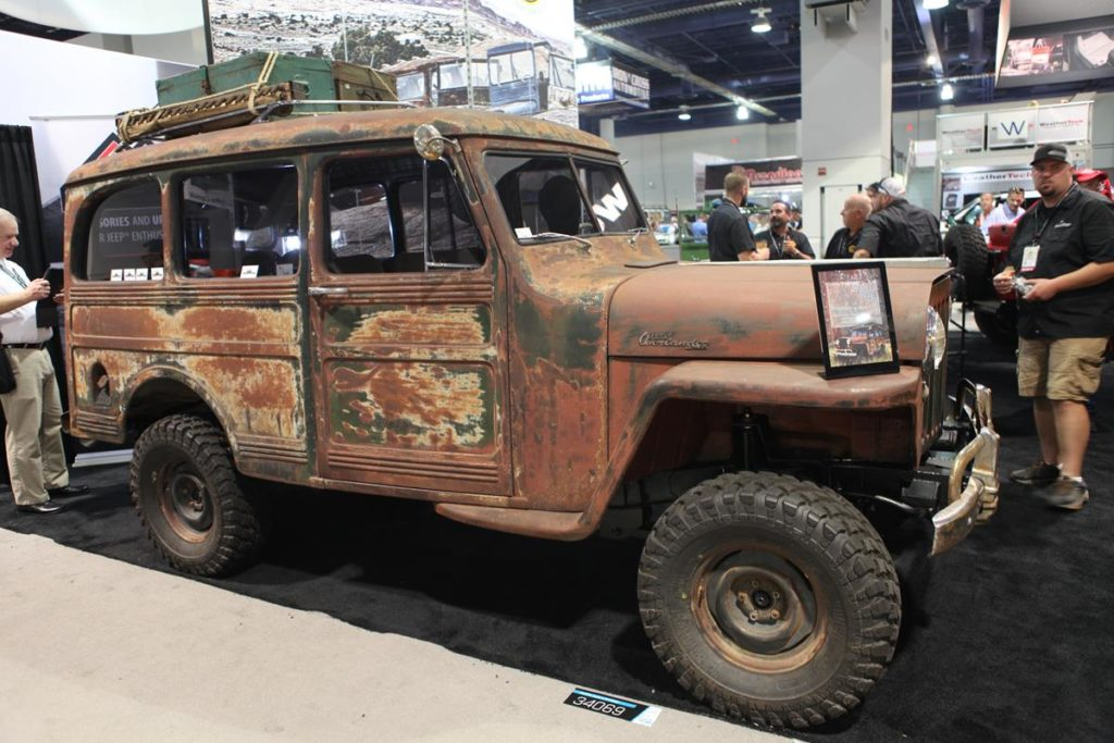 trucks of sema 2016 willys wagon metalworks