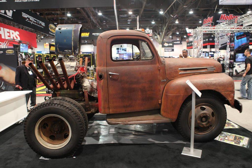 trucks of sema 2016 wheel stander truck metalworks
