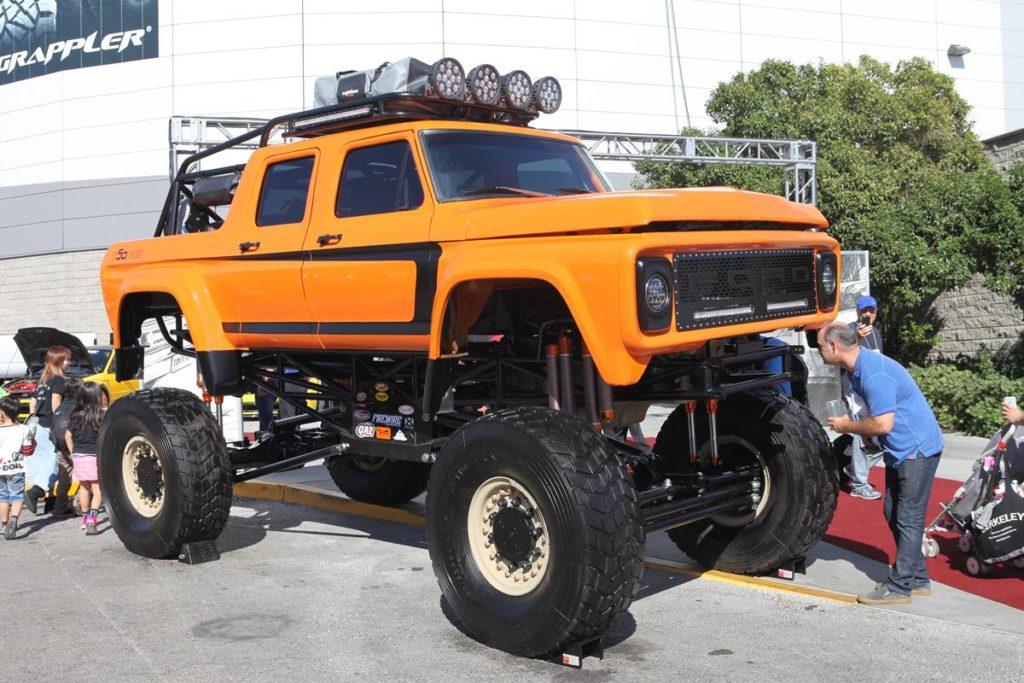 trucks of sema 2016 ford bronco metalworks oregon