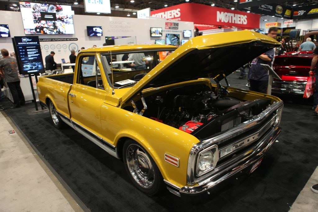 trucks of sema 2016 chevy truck metalworks