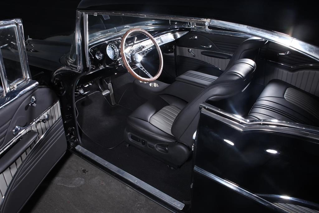 1957 chevy restoration custom interior metalworks