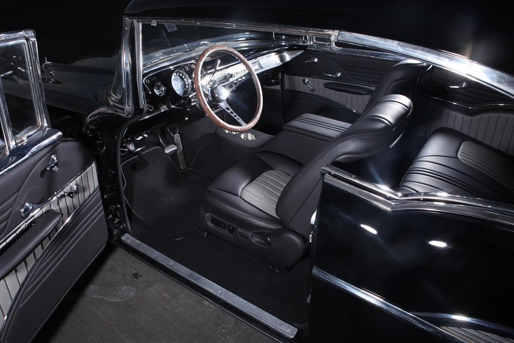 1957 chevy restoration custom interior metalworks