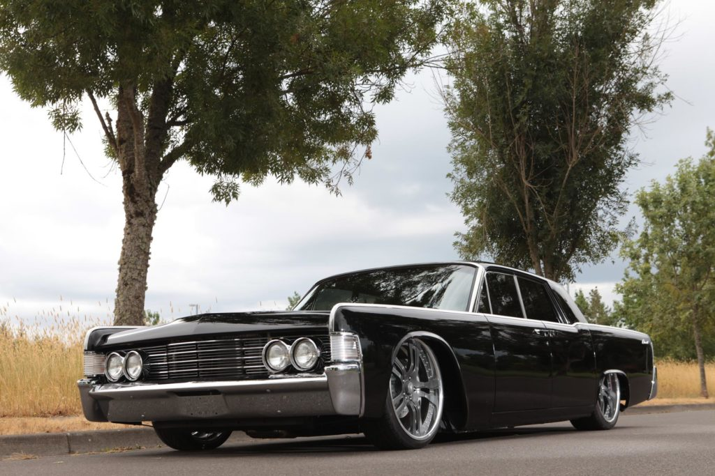 1965 lincoln continental restoration metalworks